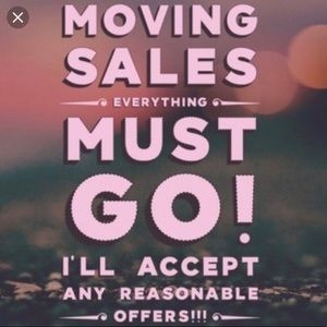 Other - MOVING TOMORROW- ALL ITEMS MUST GO